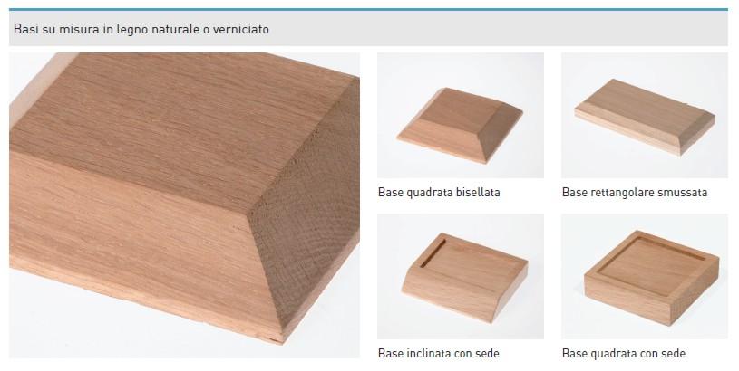 Basi Su Misura.Basi Legno Laser Style Italia