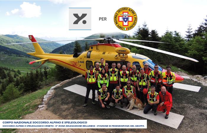 Laser Style Italia Donazione Corpo Nazionale Soccorso Alpino e Speleologico